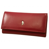 Długie etui na klucze Puccini MU-1626L, kolor fuksja, czerwone