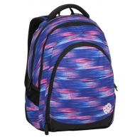 fb37126ba46e1 Superlekki plecak szkolny Bagmaster niebiesko różowy
