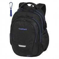 Młodzieżowy plecak szkolny CoolPack Factor 29L, Topography Blue A148