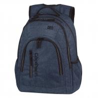 Młodzieżowy plecak szkolny CoolPack Mercator Plus 31 l, Snow Blue A320