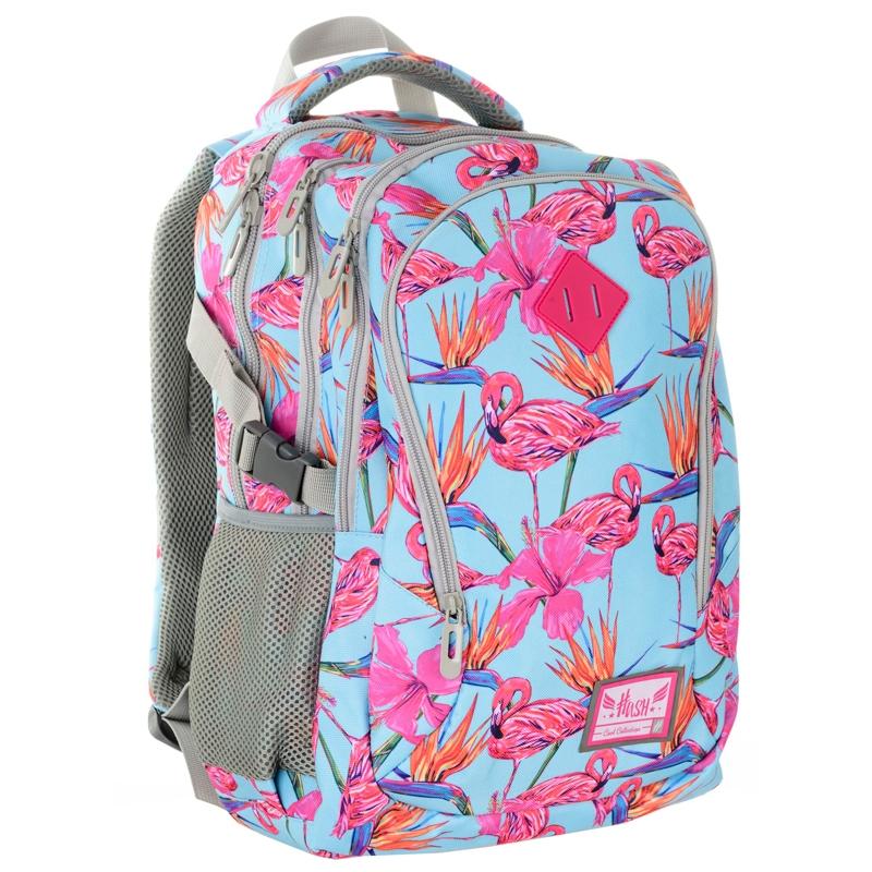 94d7492bb6a2e Plecak szkolny Astra Hash HS-03, flamingi