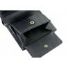 Męski mały portfel Puccini MU-25116 w kolorze czarnym