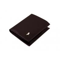Męski mały portfel Puccini MU-25116 w kolorze brązowym