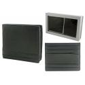 Samsonite: skórzany portfel męski + etui na wizytówki - zestaw prezentowy