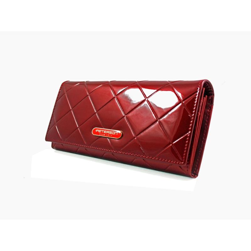 8b10a164c3d14 Długi portfel damski Peterson RFID