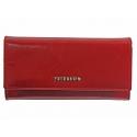 Długi portfel damski Peterson, czerwony 410_3