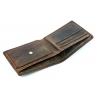 Mały portfel męski Always Wild ze skóry nubukowej, brązowy