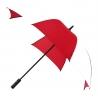 Parasolka Falcone automatyczna bardzo duża biało czerwona