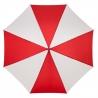 Automatyczna damska parasolka biało czerwona