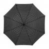 Automatyczna elegancka parasolka damska w grochy