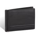 Skórzany portfel męski banknotówka Valentini, czarny