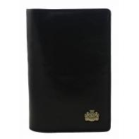 Etui na paszport skórzane Wittchen w kolorze czarnym