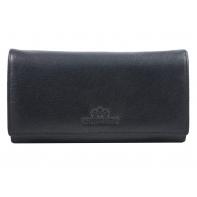 Długi damski portfel Wittchen 21-1-075, kolekcja Italy, ciemny granat