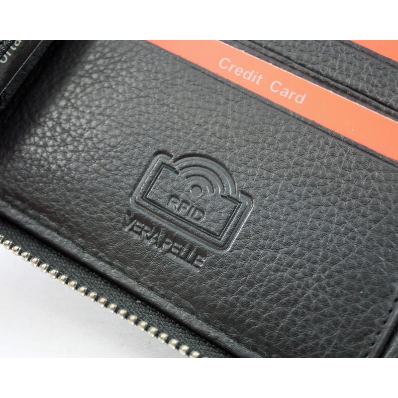 86f4045d3f8bb Portfel męski Pierre Cardin RFID skórzany na suwak