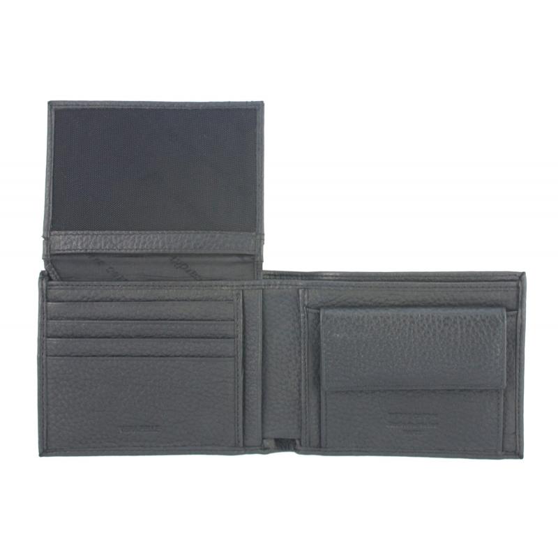 a79eae4261bc8 Męski portfel + pasek Pierre Cardin skórzany exclusiv zestaw prezentowy,  czarny