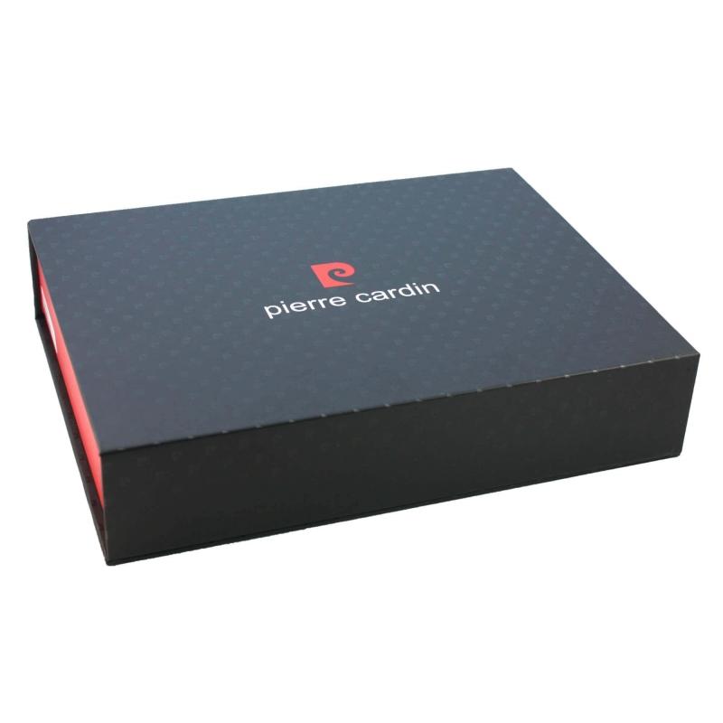 5bdd82dbe0756 Męski portfel + pasek Pierre Cardin skórzany exclusiv zestaw prezentowy