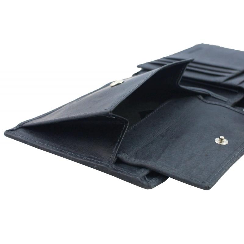 cbabb31ddaf71 Męski portfel + pasek Pierre Cardin skórzany exclusiv zestaw prezentowy,  granatowy