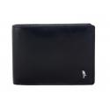 Męski poziomy portfel Puccini PL20438 w kolorze czarnym