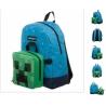 Plecak szkolny z odczepianą śniadaniówką, MINECRAFT