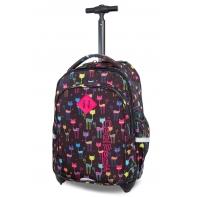 Plecak szkolny na kółkach CoolPack Junior 24 L, Cats B28046