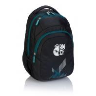 Dwukomorowy plecak szkolny Astra, Real Madryt RM-189