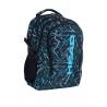 Plecak szkolny Astra Head HD-256, czarno-niebieski