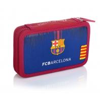 Piórnik podwójny z wyposażeniem FC-236 FC Barcelona Astra