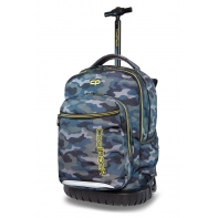 Plecak szkolny na kółkach CoolPack Swift 29L, Military B04008