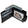 Bardzo mały, skórzany portfel z praktycznym zapięciem, Nicolas