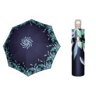 Automatyczna mocna satynowa parasolka damska Doppler, granat