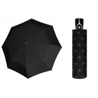 Automatyczna bardzo mocna parasolka damska Doppler, czarno-szara BW02