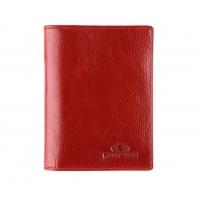 Etui na dokumenty, Wittchen, kolekcja Italy 21-2-174, czerwone