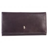 Skórzany portfel damski Puccini MU 1705 brązowy
