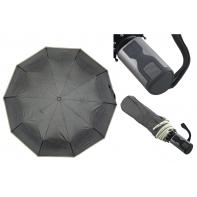 Automatyczna szara parasolka pełny automat z lamówką