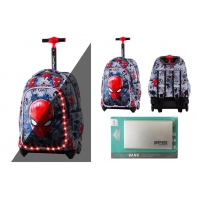 Plecak na kółkach Jack LED Coolpack ©Marvel SPIDERMAN + Powerbank