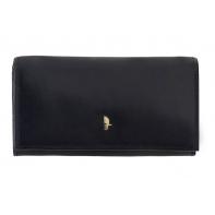 Klasyczny portfel damski Puccini z kolekcji Murano, czarny