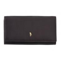 Klasyczny portfel damski Puccini z kolekcji Murano, brązowy