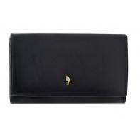 Elegancki portfel damski Puccini z kolekcji Murano, czarny