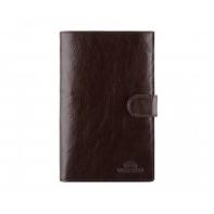 Bardzo duży skórzany portfel męski Wittchen wysokość 18 cm, brązowy