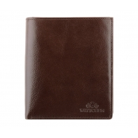 Duży portfel Wittchen 21-1-139, RFID, kolekcja Italy, kolor brązowy