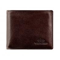 Brązowy portfel męski z wyjmowaną wkładką Wittchen, kolekcja: Italy