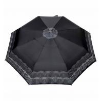 Automatyczna parasolka damska marki Parasol, geometryczny wzór