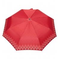 Automatyczna parasolka damska marki Parasol, jodełka czerwona