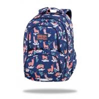 Dwukomorowy plecak szkolny CoolPack Spiner 24L, Llamas C01177