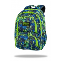 Dwukomorowy plecak szkolny CoolPack Spiner 24L, Xo Skull C01194