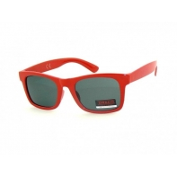 Okulary przeciwsłoneczne dziecięce UV 400, CZERWONE