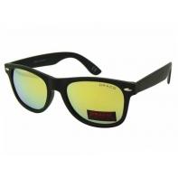 Okulary przeciwsłoneczne męskie POLARYZACYJNE UV 400, CZARNY + ŻÓŁTY