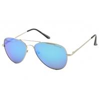Okulary pilotki męskie przeciwsłoneczne POLARYZACYJNE UV 400