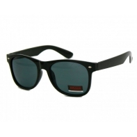 Okulary przeciwsłoneczne męskie UV 400, NERDY CZARNE