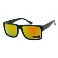 Okulary przeciwsłoneczne męskie UV 400, CZARNE + ŻÓŁTE